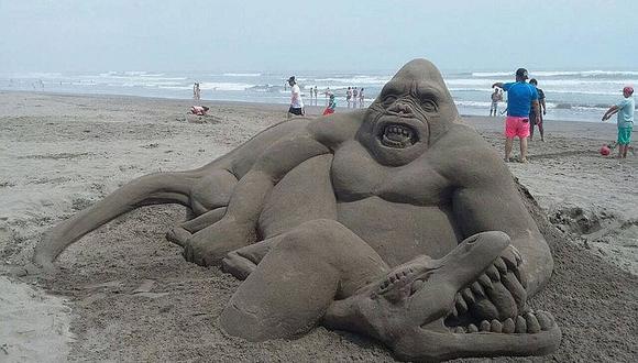 Playas de Mollendo serán escenario de un Concurso de Esculturas de Arena