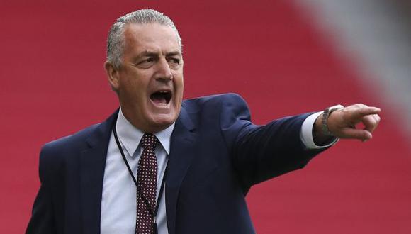 Gustavo Alfaro es entrenador de Ecuador desde agosto del 2020. (Foto: AFP)