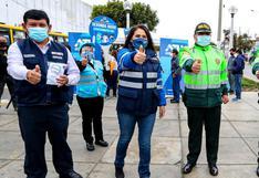 COVID-19: promueven vacunación a taxistas, choferes y cobradores de transporte público en el Callao