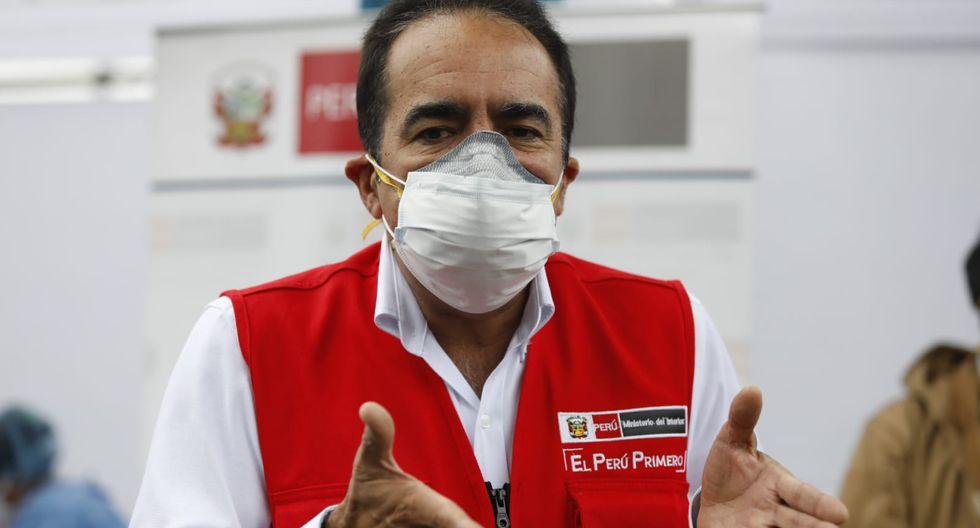 """Gastón Rodríguez detalló que  el toque de queda """"se ha venido dando desde el inicio de esta situación y será un factor que también acompañe"""" en esta extensión. (Foto: Diana Marcelo/GEC)"""