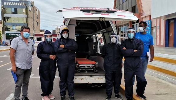 Patrulla Covid en Camaná está conformado por voluntarios| Foto: Difusión