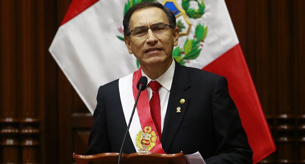 Aprobación del presidente Martín Vizcarra subió 4 puntos y llegó a 65%