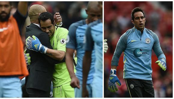 Manchester City: Pep Guardiola defendió a Claudio Bravo