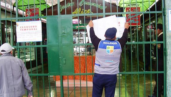 Jesús María: clausuran galerías que carecían de medidas de seguridad ante emergencias