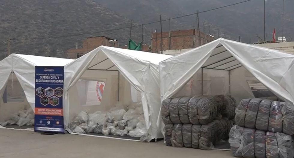 Entregan ocho toneladas de ayuda humanitaria para familias vulnerables por friaje en Huánuco