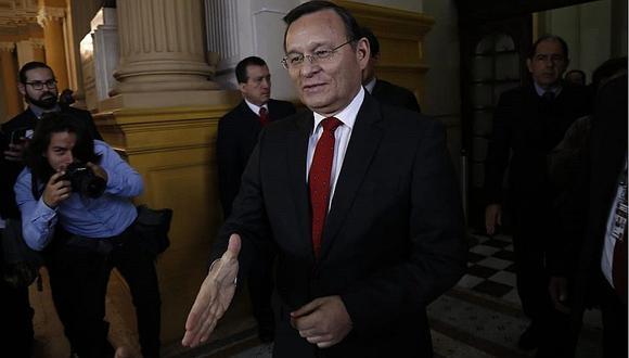 Néstor Popolizio negó que exista secretismo en reuniones con César Hinostroza