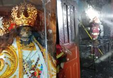 Reportan incendio en vivienda que alberga imagen del 'Niño Compadrito' en Cusco (FOTOS)