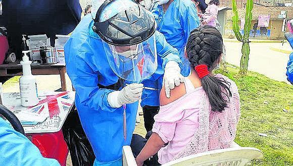 La Gerencia Regional de Salud recibió ayer los resultados del Instituto Nacional de Salud (INS). Recomiendan a padres de familia cumplir con vacunas.