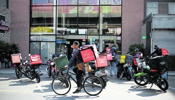 El delivery experimentó un 'boom' durante la pandemia. (Foto: Francisco Neyra | GEC)