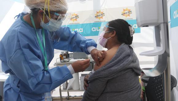 254 mil personas vacunadas en Arequipa con las dos dosis | Foto: Eduardo Barreda