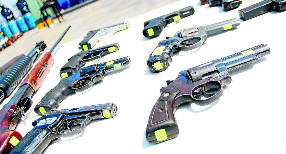 Cerca de 30 mil personas en La Libertad cuentan con permiso para portar armas