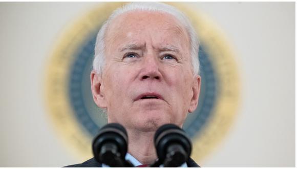 Joe Biden se pronuncia luego de que Estados Unidos superó el medio millón de muertos por COVID-19. (Foto: AFP)