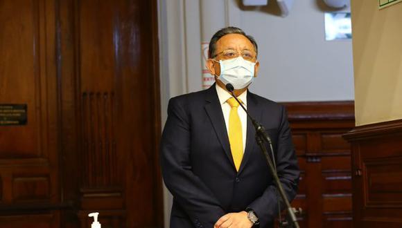 Edgar Alarcón fue suspendido en sus funciones como congresista (Foto: Parlamento)