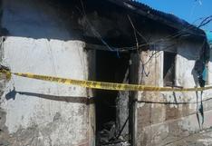 Ica: Mujer incendia su vivienda y su hijo muere carbonizado
