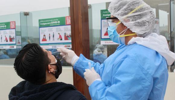 Nuevos casos de COVID-19 en el Perú. (MINSA)