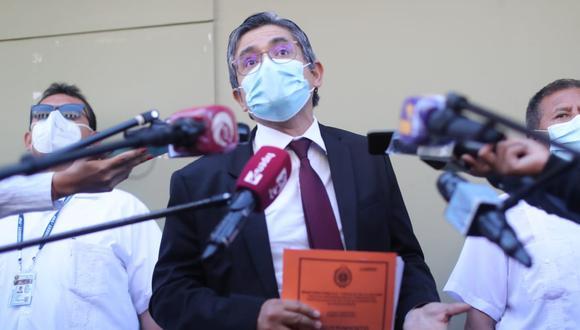 """Pérez precisa que Fujimori Higuchi lo ha amenazado y ha """"incitado el odio"""" en su contra en el marco de la investigación en su contra. (Foto: Lino Chipana Obregón  / GEC)"""