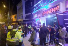 Hallan a 150 jóvenes en discoteca de Huánuco que funcionaba en plena pandemia