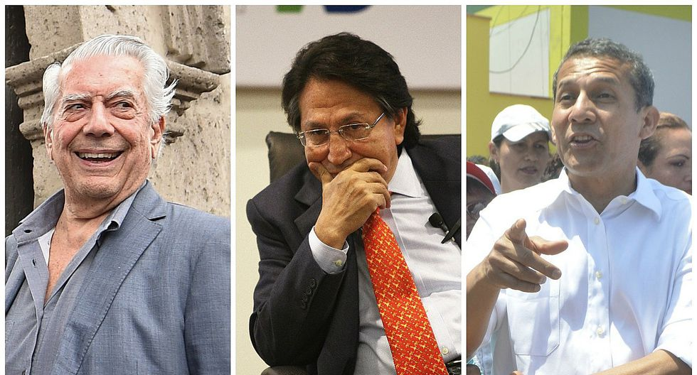 Mario Vargas Llosa ve delito en Alejandro Toledo, pero no en Ollanta Humala