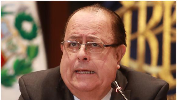 Julio Velarde aseguró que solo se quedaría algunos meses más al frente del BCR. (Foto: GEC)
