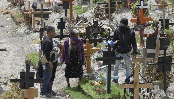 México se convirtió en el tercer país del planeta con más fallecidos por COVID-19 (Photo by ALFREDO ESTRELLA / AFP)