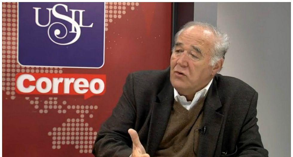 """García Belaunde: """"El otro contralor no decía nada y éste habla demasiado"""""""