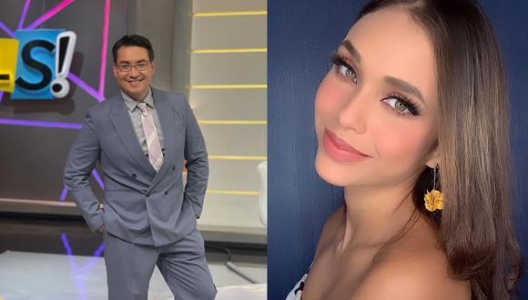 El conductor del programa 'Suelta la Sopa' y experto en certámenes de belleza del Miss Universo, Luis Alfonso Borrego, elogió la belleza de la joven peruana Janick Maceta.