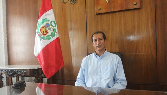 Jorge Zegarra Del Carpio es el nuevo prefecto Regional de Arequipa| Foto: Eduardo Barreda