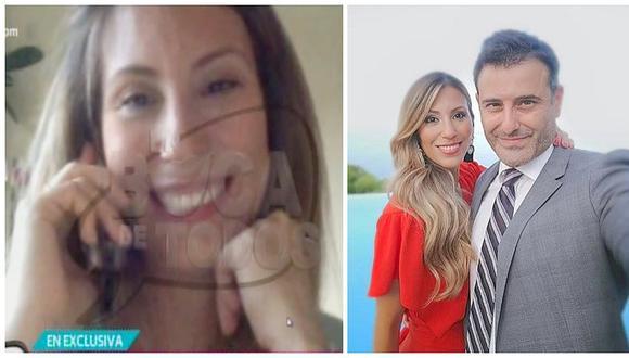 Delly Madrid anunció que se convertirá en madre de mellizas a sus 40 años (VIDEO)