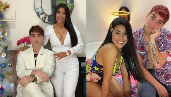 Mayra Arizaga y Anthony Swag cuando tenían una relación. | Foto: Instagram