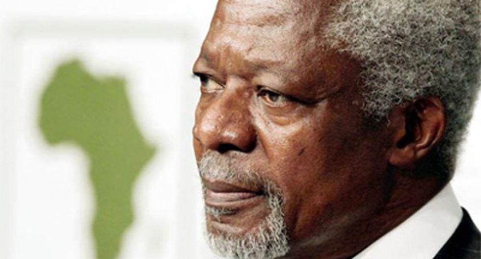 Kofi Annan condena masacre en Siria