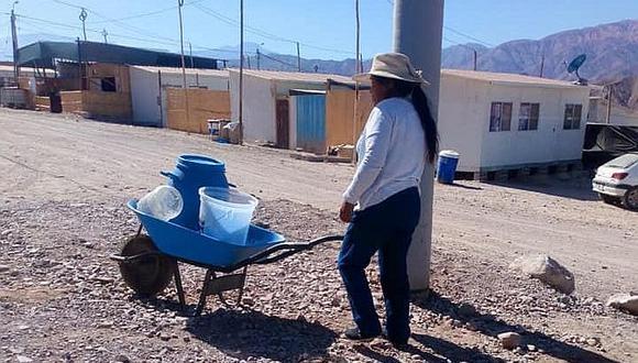 Damnificados de Mirave carecen de agua potable