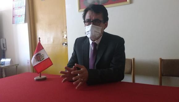 Fredy Velásquez Ángles, ganará un sueldo de más de 18 mil soles mensuales. (Foto: Feliciano Gutiérrez)