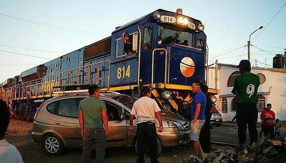 Municipios deberán ordenar cruces del tren en Arequipa