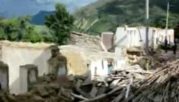 Cajamarca: Pueblo desaparece tras deslizamientos por intensas lluvias (Video)