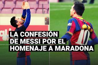 Lionel Messi hizo una revelación tras el tributo a Diego Maradona con la casaquilla de Newell's