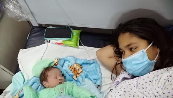 "Hospital Goyeneche vio nacer al ""Bebé del Bicentenario"" en Arequipa. (Foto: Difusión)"