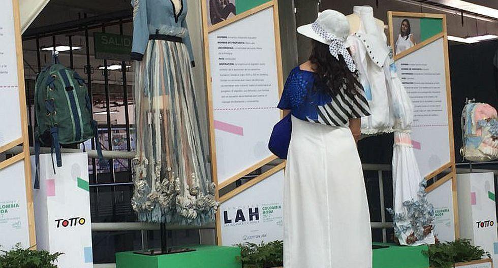 Colombiamoda, una feria para diseñadores, vendedores y fabricantes de textiles