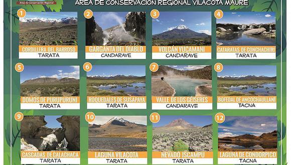 """Lanzan concurso """"7 Maravillas del ACR Vilacota Maure"""" de Tacna"""