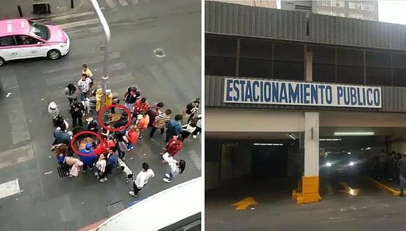 México: lanzan a dos perros callejeros desde el techo de un estacionamiento (VIDEO)