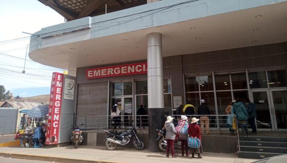 La herida fue auxiliada hasta una clínica privada donde fue atendida por los galenos. (Foto: Referencial)