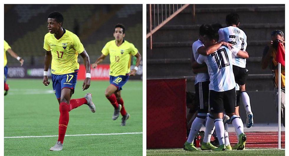 Sudamericano Sub 17: Ecuador derrotó 4-1 a Argentina y clasificó al Mundial de Brasil (VIDEO)