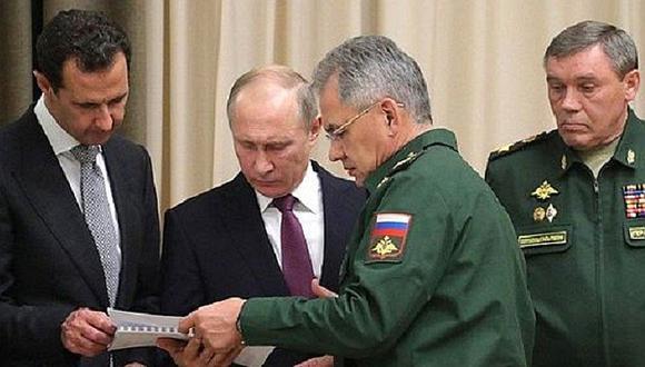 Rusia: Vladímir Putin acusa a EEUU de ayudar a los terroristas con ataque a Siria