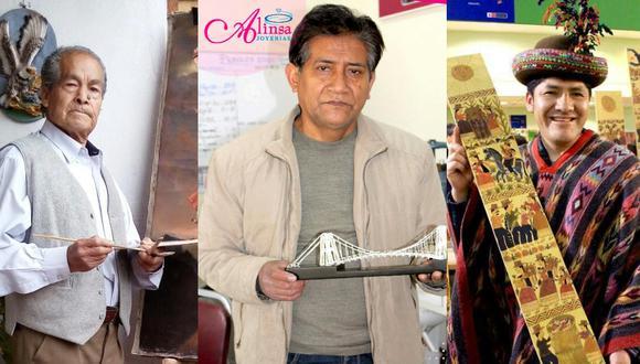 Víctor Vivero Holgado, Alejandro Inocente Sánchez Capcha y Marciano Berrocal Evanan. (Foto: Composición GEC)