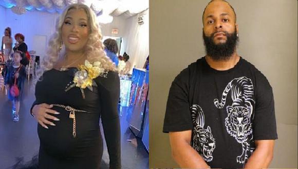La víctima fue identificada como Shanice Young (31). En tanto, su ex pareja es buscada por las autoridades. (Foto: Spectrum News NY)