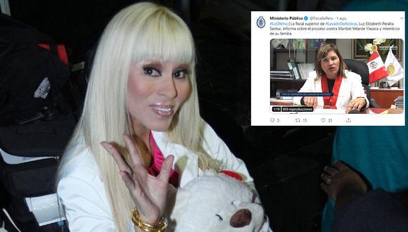 Maribel Velarde: Piden 25 años de prisión contra exbailarina por haber transferido dinero ilícito a sus hermanas