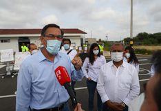 """Martín Vizcarra califica como """"ardid"""" lo aprobado en el Congreso: """"Nos quieren tomar el pelo"""""""