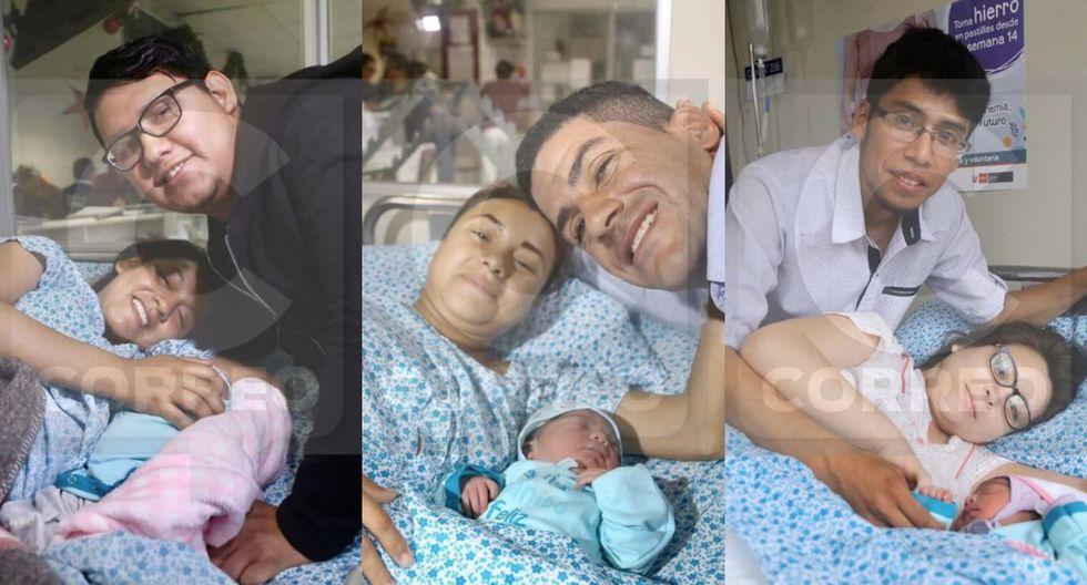 Primeros bebés nacidos en Navidad. Fotos: Alberto Valderrama/ Video: Aurora Caruajulca