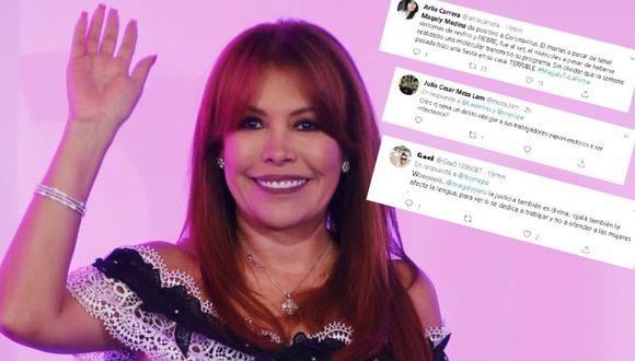 Twitteros criticaron duramente a Magaly Medina. (Foto: GEC/ Twitter)