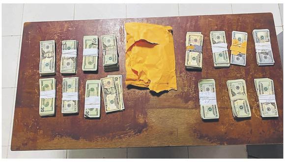 Dos hombres y una mujer fueron detenidos debido a que no contaban con la documentación que acredite la legalidad del dinero que portaban.