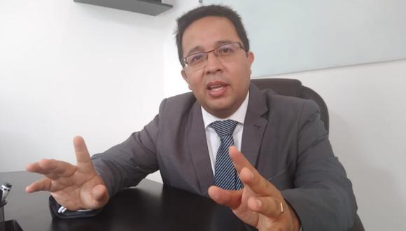 """Especialista Omar de Lama Dioses indicó que se debió crear un tribunal especial para resolver la figura de """"la condena al absuelto""""."""
